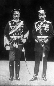 Kaiser Wilhelm and Tsar Nicholas