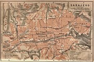 Sarajevo in 1905