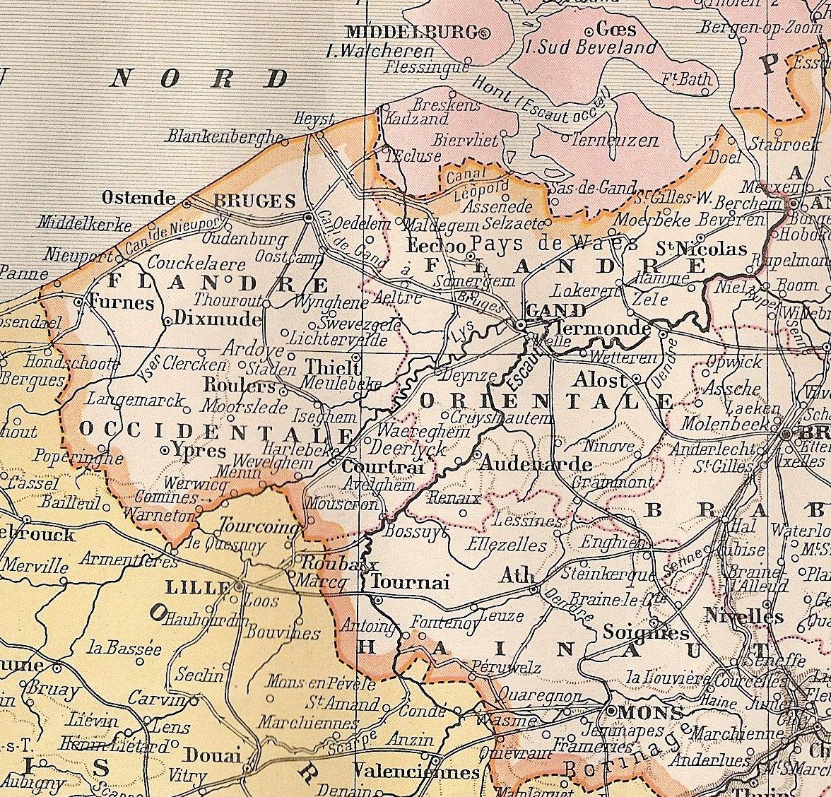 belgium 1914
